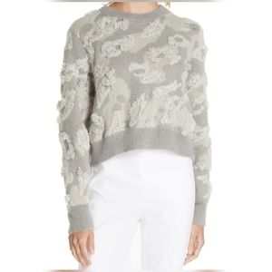 Sweaters - Rag & bone embroidered leopard spot  sweater
